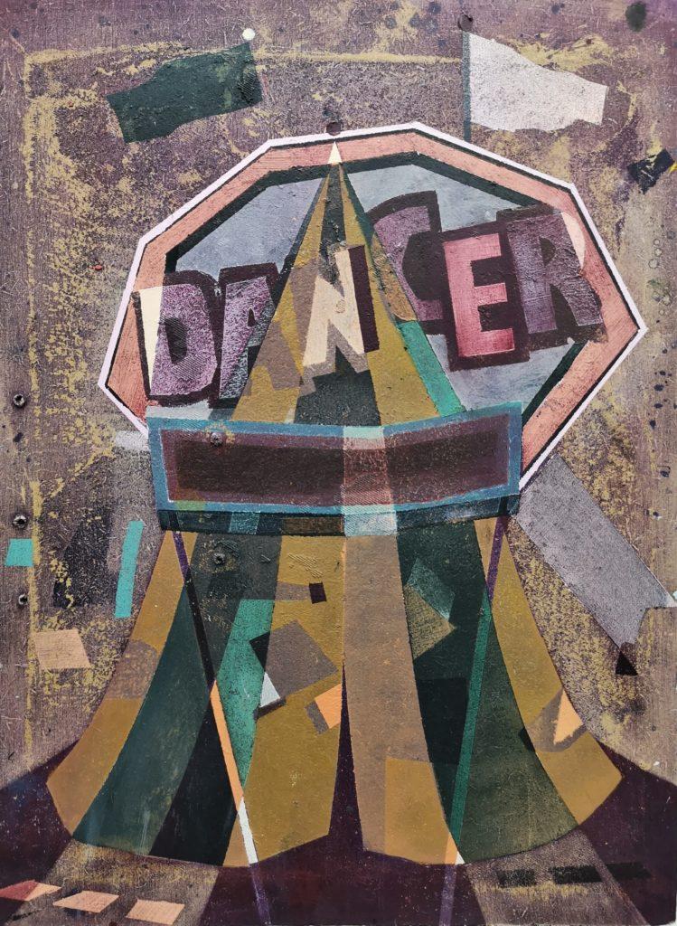 Dancer. 35 x 26 cm. 2019