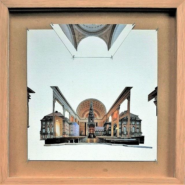 Christiansborg 30 x 30 cm