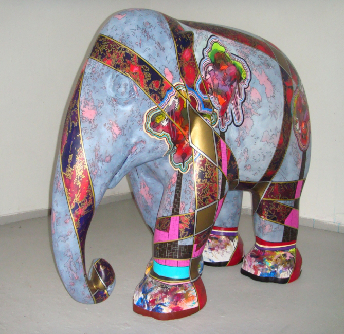 'Iphant', Elephant Parade 2011