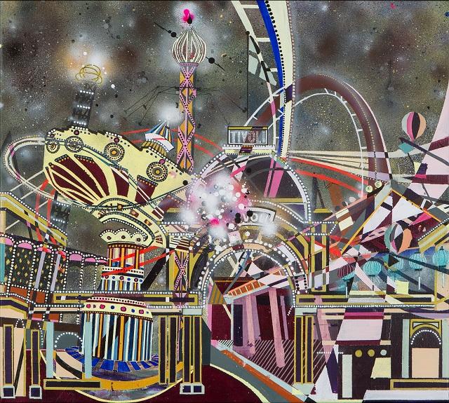 Playfullness. 90 x 100 cm. 2016