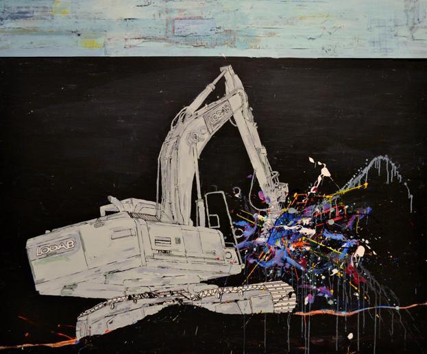 Lodab. 170 x 200 cm. 2012